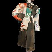 SALE 1980's Yuya Japan Silk Coat