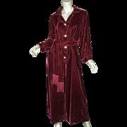 SALE PENDING 1960's Velvet Jumpsuit Rhinestone Celluloid Buttons Petite Med