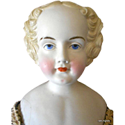 "SALE Extraordinary and Rare Antique Parian Doll-40""Tall"