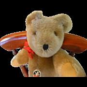 "SALE 12"" Swiss made Teddy Bear By Felpa Zurich,"" Mutzli"""