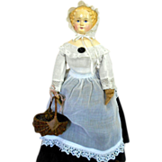 SALE Beautiful German Paper mache Doll 1870