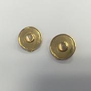 18k Cat's Eye Moonstone Earrings