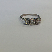 SALE Gorgeous 14k Diamond Ring