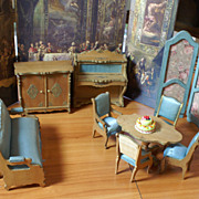 REDUCED 9 pc. Early  French Salon by Badeuille Firm c. 1875