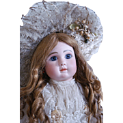 "Spectacular 24""  Steiner  Bebe Figure A No. 5 with Bisque Hands"