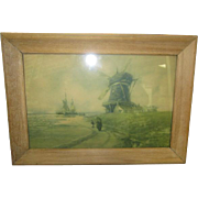 Shores of Holland Litho Print by Francis William Vreeland