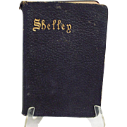 SALE PENDING Shelley's Poetical Works;  1905, Oxford Edition