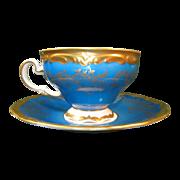 Blue  Weimar Cup & Saucer
