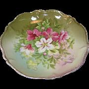 Tirschenreuth Flowered Serving Bowl