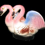 Double Swan Planter