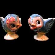 Lefton Bluebird Egg Cups