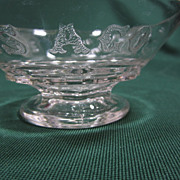 EAPG Liberty Bell Pattern Sauce Bowl