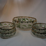 "SALE ""Delaware"" Berry Bowl set"