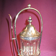 Reed & Barton Pickle Caster Quadruple Silverplated