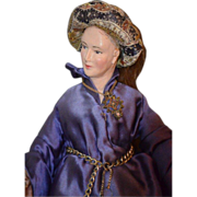 REDUCED Old Rare Evelyn Green Artist Doll French Lady Doll One of A Kind