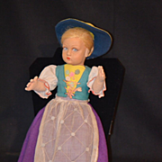 REDUCED Old Lenci Cloth Doll Original Clothes Gorgeous