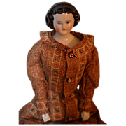 REDUCED Antique Doll Mary Todd Lincoln China Head Beautiful