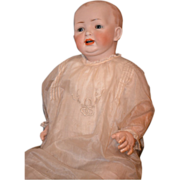 REDUCED Antique Doll Kestner HUGE Baby Bisque Head Chunky Body