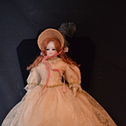 REDUCED Antique Doll French Mlle. Rohmer Fantastic Barrois Fashion Doll