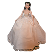 REDUCED Vintage Doll Half Doll Scarlett O'hara Gone with The Wind Beverly Walter
