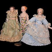 REDUCED Vintage Doll Miniature Dollhouse Dolls Wonderful Lot Bisque