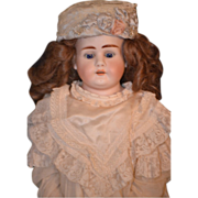 REDUCED Antique Doll Bisque Simon & Halbig  1260 Dressed Beautiful