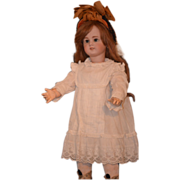 REDUCED Antique Doll TeTe Jumeau French Bisque Big Girl Dressed