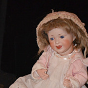 REDUCED Antique Doll Bisque SFBJ Laughing Jumeau