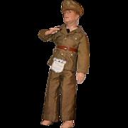 REDUCED Antique Doll General MacArthur W/ Original Clothes & Tag