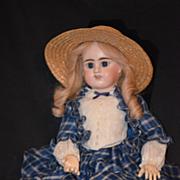 REDUCED Antique Doll French Etienne Denamur Bisque E. D. Bebe