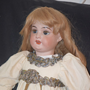 REDUCED Antique Doll French Mystery Bisque Doll Beautiful