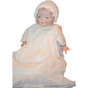 REDUCED Antique Doll Bisque Grace S. Putnam Baby Dressed Gorgeous