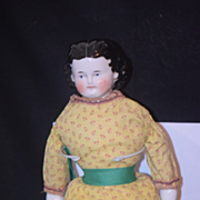 REDUCED Antique Doll China Head Adelina Patti ABG gorgeous