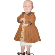 REDUCED Antique Doll Schoenhut Wood Carved Jointed