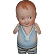 REDUCED Antique Baby Bud Doll
