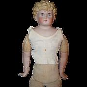REDUCED Antique Doll ABG China Head W/ Depose Shirt