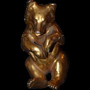 REDUCED Antique Miniature Teddy Bear Doll Friend Adorable Porcelain