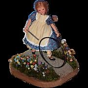 SALE Vintage Doll Peggy Kilgore Artist Corn Husk Wonderful!