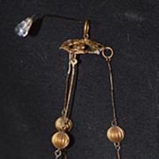 REDUCED Antique Chandelier Doll Dollhouse Size Miniature Ormolu