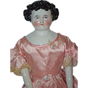 REDUCED Antique Doll China Head Conta & Boehme Wonderful