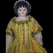 REDUCED Vintage Doll China Head Fancy Emma Clear Spill Curls