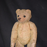 REDUCED Old Teddy Bear Hump Back Mohair Jointed Wonderful