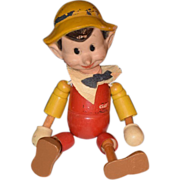 REDUCED Antique Doll Ideal Pinocchio Doll Wood Wood