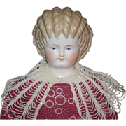 REDUCED Antique ABG China Head Curly Top Gorgeous