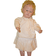 REDUCED Antique Doll Schoenhut Wood Carved Jointed Child Character