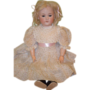 REDUCED Antique Doll Bisque George Borgfeldt Doll Pale Bisque Sweet Face