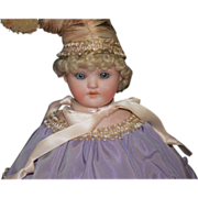 SALE PENDING Antique Doll Bisque Marriott Musical Twirling Toy