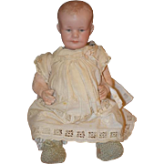 REDUCED Antique Doll Bisque RARE Character 500 AM with Intaglio Eyes Sweet Baby Body