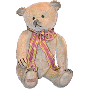 Wonderful Teddy Bear Greta Mohair Jointed Artist Jon Von Houton
