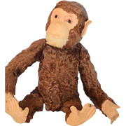 Old Doll Monkey Yes No Large size Moves Head Yes and No Great in Dolls ...